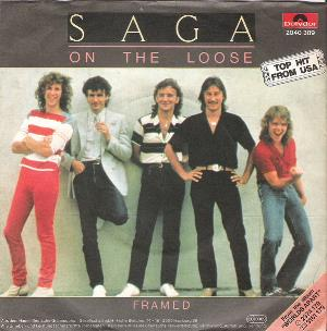Saga - On The Loose CD (album) cover