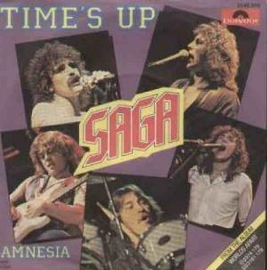 Saga - Time's Up CD (album) cover