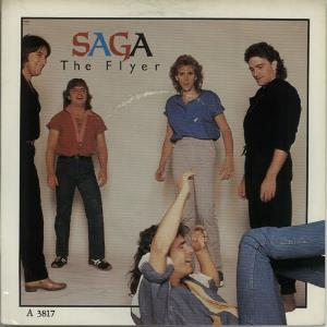 Saga - The Flyer CD (album) cover