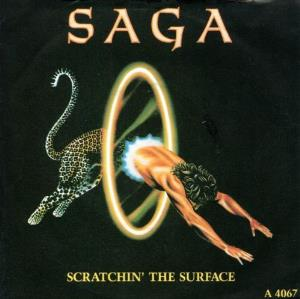 Saga - Scratchin' The Surface CD (album) cover