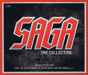 Saga - The Collection CD (album) cover