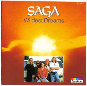 Saga - Wildest Dreams CD (album) cover