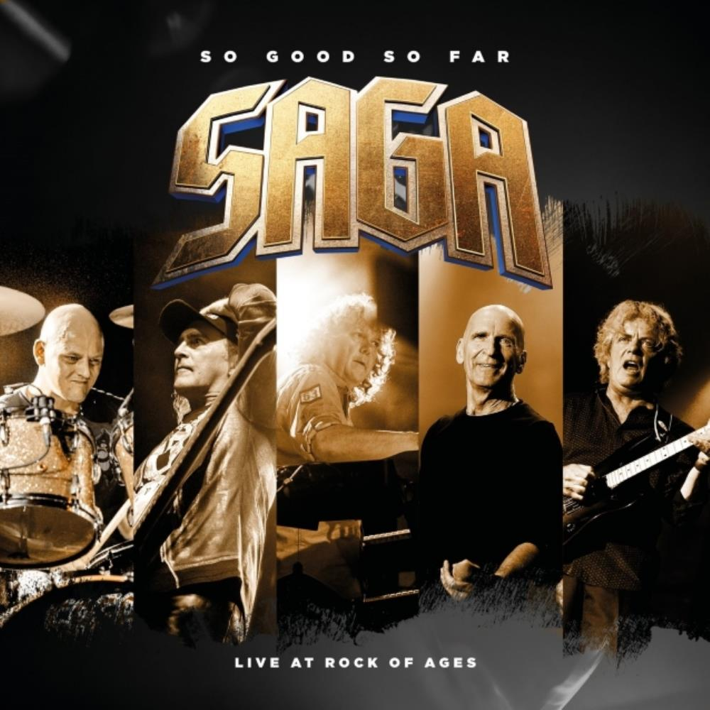 Saga - So Good So Far - Live At Rock Of Ages CD (album) cover