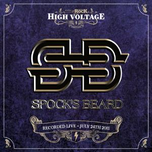 Spock's Beard - Live At High Voltage Festival CD (album) cover