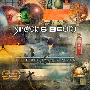 Spock's Beard - The First Twenty Years CD (album) cover