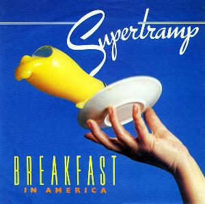 Supertramp - Breakfast In America / Gone Hollywood CD (album) cover