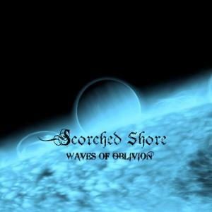 SCORCHED SHORE - Waves Of Oblivion CD album cover