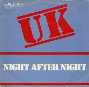 U.K. - Night After Night CD album cover