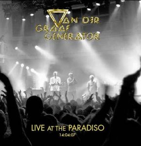 VAN DER GRAAF GENERATOR - Live At The Paradiso CD album cover