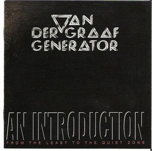 Van Der Graaf Generator - An Introduction CD (album) cover