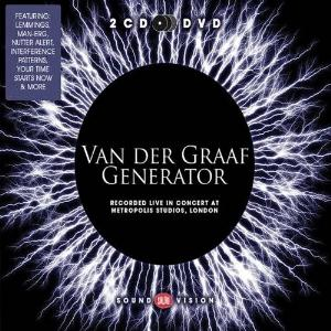 Van Der Graaf Generator - Recorded Live In Concert At Metropolis Studios, London CD (album) cover