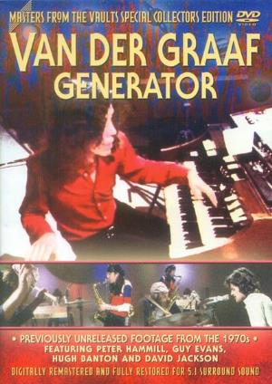 Van Der Graaf Generator - Masters From The Vaults DVD (album) cover