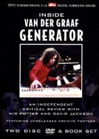 VAN DER GRAAF GENERATOR - Inside Van Der Graaf Generator : An Independant Critical Review CD album cover