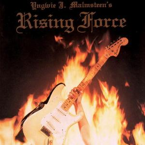 YNGWIE MALMSTEEN - Rising Force CD album cover