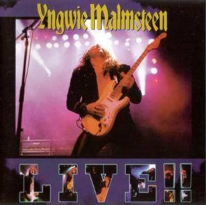 Yngwie Malmsteen - Live!! CD (album) cover