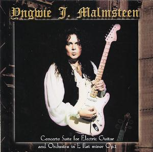 Yngwie Malmsteen - Concerto Suite For Electric Guitar And Orchestra In E Flat Minor Op. 1 CD (album) cover