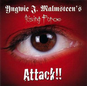 Yngwie Malmsteen - Attack!! CD (album) cover