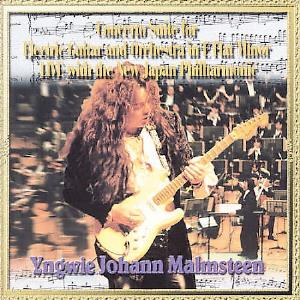 Yngwie Malmsteen - Concerto Suite For Electric Guitar And Orchestra In E Flat Minor CD (album) cover