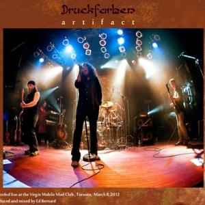 Druckfarben - Artifact CD (album) cover