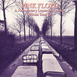 Pink Floyd - A Momentary Lapse Of Reason Official Tour Cd CD (album) cover