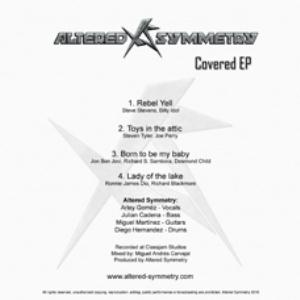 ALTERED SYMMETRY - Covered Ep CD album cover