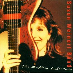 Susan Weinert Band - The Bottom Line CD (album) cover