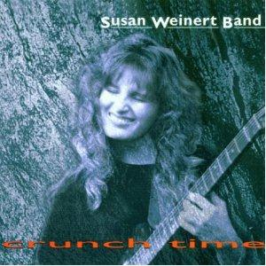 Susan Weinert Band - Crunch Time CD (album) cover