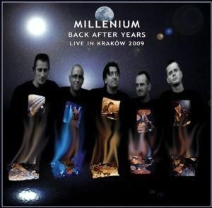 Millenium - Back After Years - Live In Kraków 2009 CD (album) cover