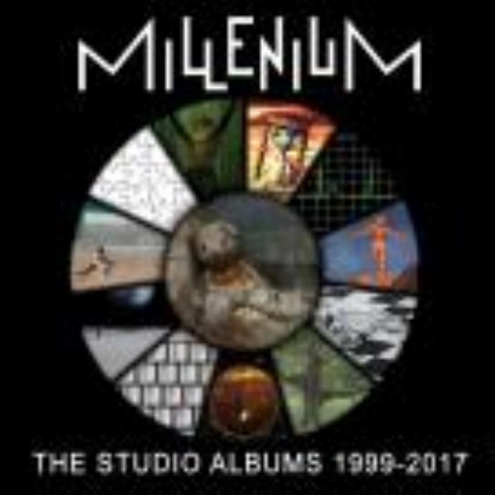 Millenium - The Studio Albums 1999-2017 CD (album) cover