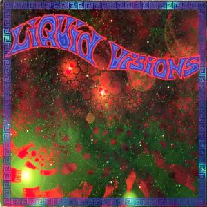 Liquid Visions - Overstellar Interdrive CD (album) cover