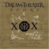Dream Theater - Score : 20th Anniversary World Tour Live With The Octavarium Orchestra CD (album) cover