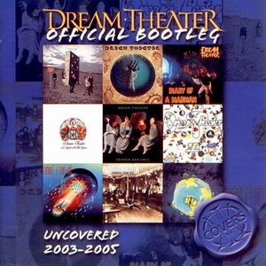 Dream Theater - Uncovered 2003-2005 CD (album) cover