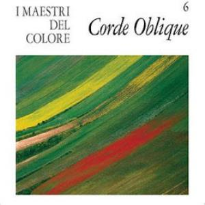 Corde Oblique - I Maestri Del Colore CD (album) cover