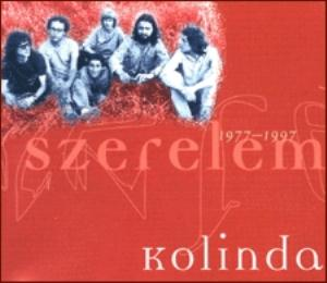 Kolinda - Szerelem 1977-1997 CD (album) cover