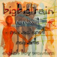 Big Big Train - English Boy Wonders CD (album) cover