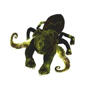 Kettlespider - Xenograft, Kettlespider, Bear The Mammoth CD (album) cover