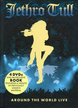 JETHRO TULL - Around The World Live (4dvd) CD (album) cover