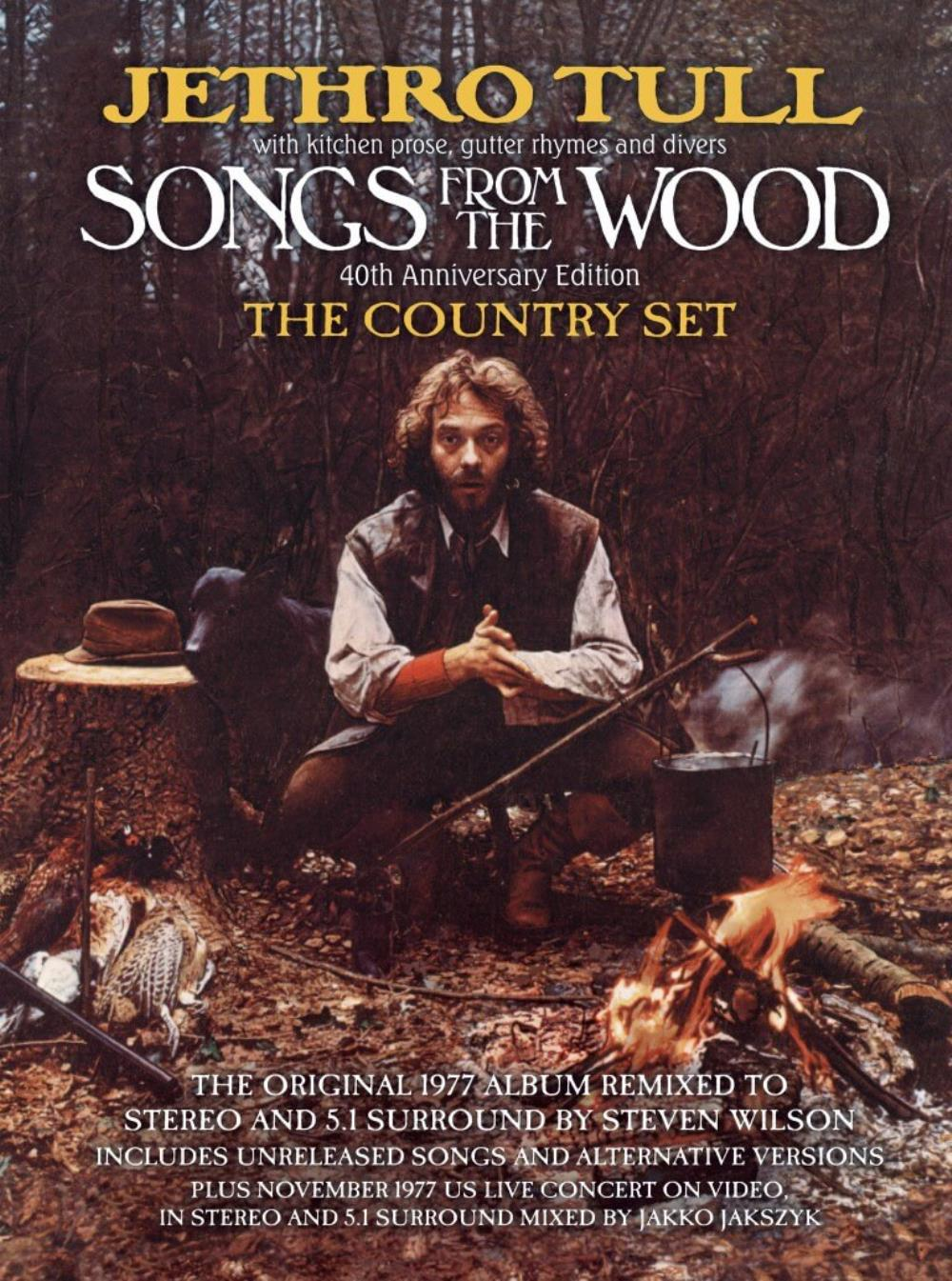 Jethro Tull - Songs From The Wood - 40th Anniversary Edition - The Country Set CD (album) cover