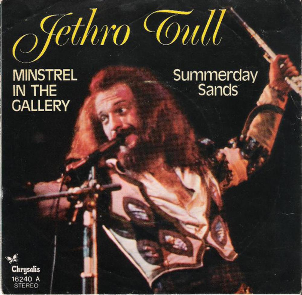 Jethro Tull - Minstrel In The Gallery / Summerday Sands CD (album) cover