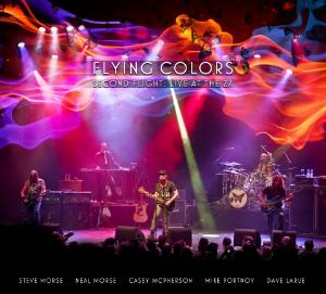 FLYING COLORS - Second Flight: Live At The Z7 CD album cover