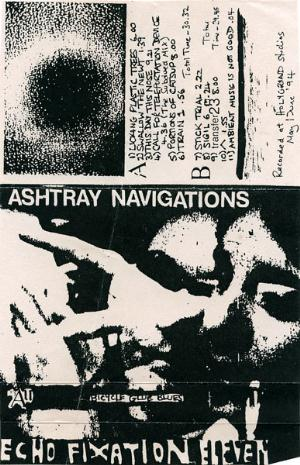 Ashtray Navigations - Bicycle Glue Blues CD (album) cover