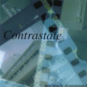 Contrastate - False Fangs For Old Werewolves CD (album) cover