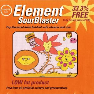 Transelement / Element - Sourblaster CD (album) cover
