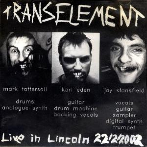 Transelement / Element - Live In Lincoln CD (album) cover