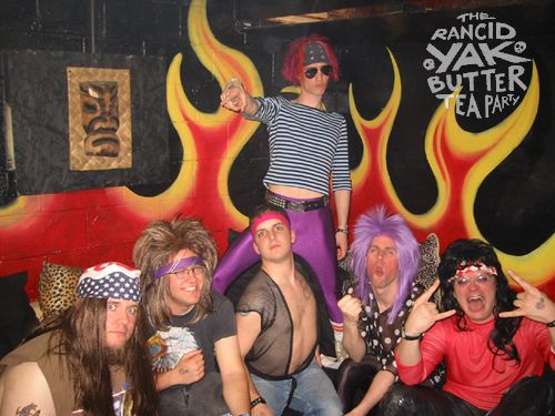 THE RANCID YAK BUTTER TEA PARTY image groupe band picture