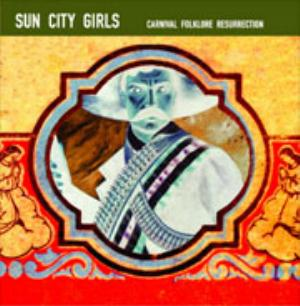 Sun City Girls - 98.6 Is Death (carnival Folklore Resurrection Vol. 13) CD (album) cover