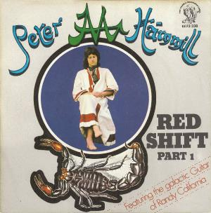 Peter Hammill - Red Shift CD (album) cover