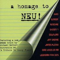 Various Artists - A Homage To Neu CD (album) cover