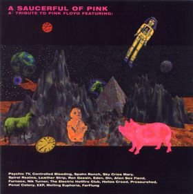 Various Artists - A Saucerful Of Pink : A Tribute To Pink Floyd CD (album) cover
