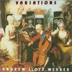 Various Artists - Andrew Lloyd Webber - Variations CD (album) cover